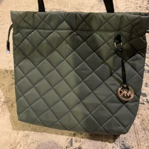 Rare Grey Quilted Michael Kors purse